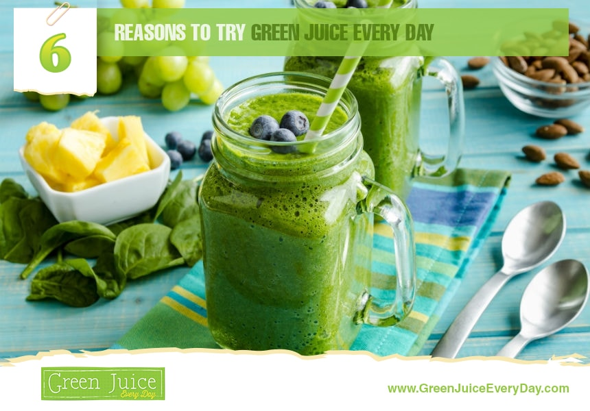 what is in green juice